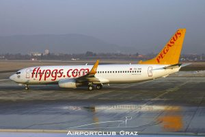 Pegasus Airlines Boeing 737-82R TC-AAI