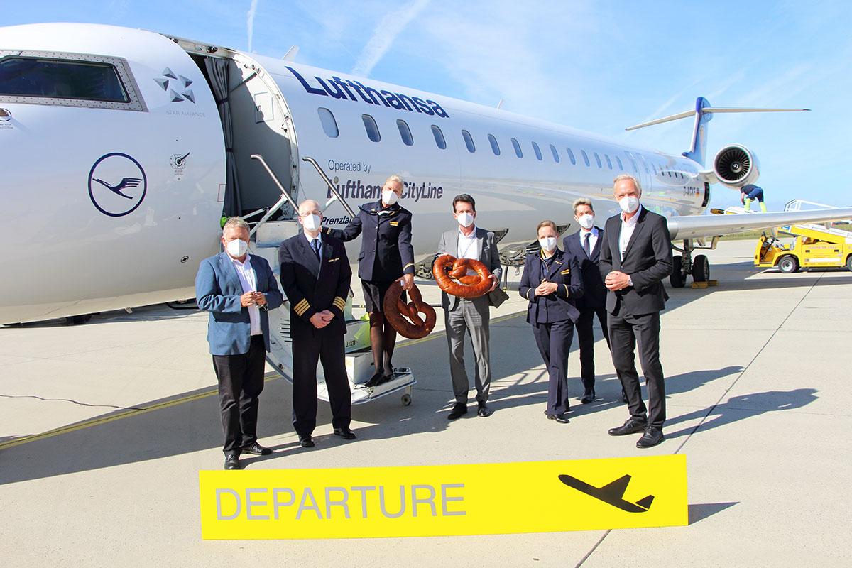 Lufthansa fliegt wieder nach München